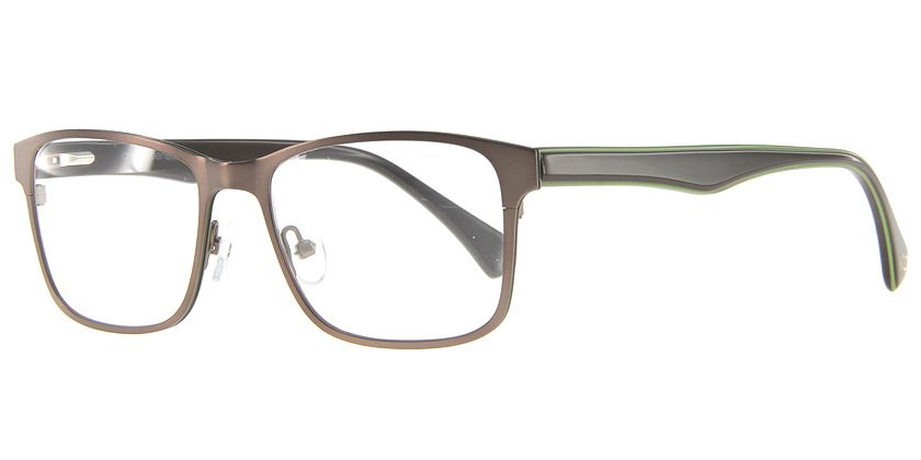 Anson Benson AB1002F202 Eyeglasses - 45 Degree View