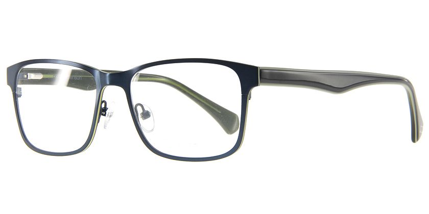 Anson Benson AB1002F303 Eyeglasses - 45 Degree View