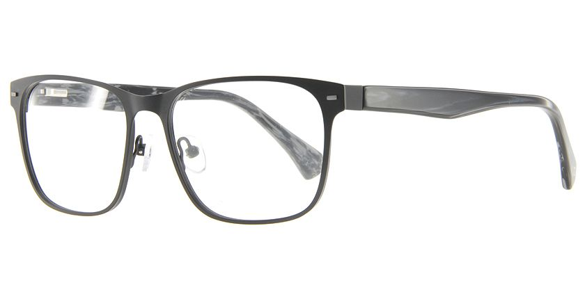 Anson Benson AB1003F001 Eyeglasses - 45 Degree View