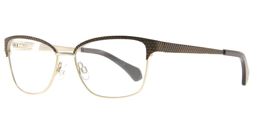 Anson Benson AB1008F004P Eyeglasses - 45 Degree View
