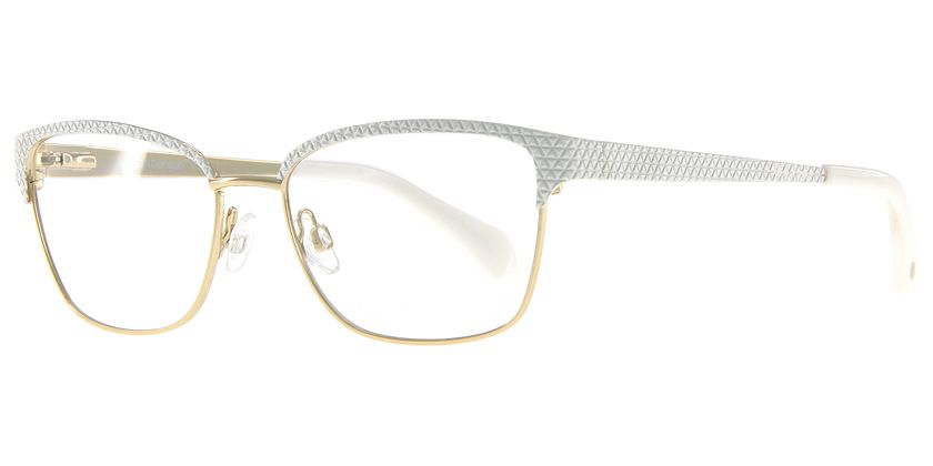 Anson Benson AB1008F100P Eyeglasses - 45 Degree View