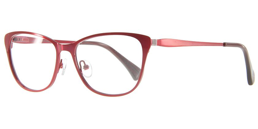 Anson Benson AB1009F403 Eyeglasses - 45 Degree View