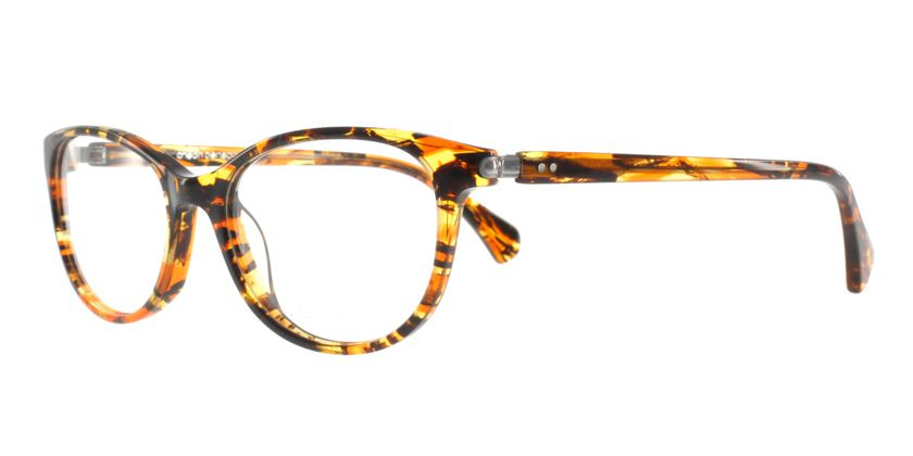 Anson Benson AB1018F052 Eyeglasses - 45 Degree View