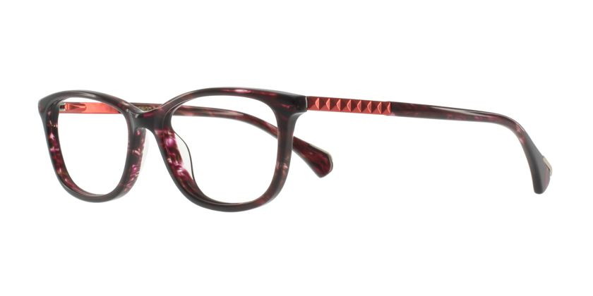 Anson Benson AB1021F0951H Eyeglasses - 45 Degree View