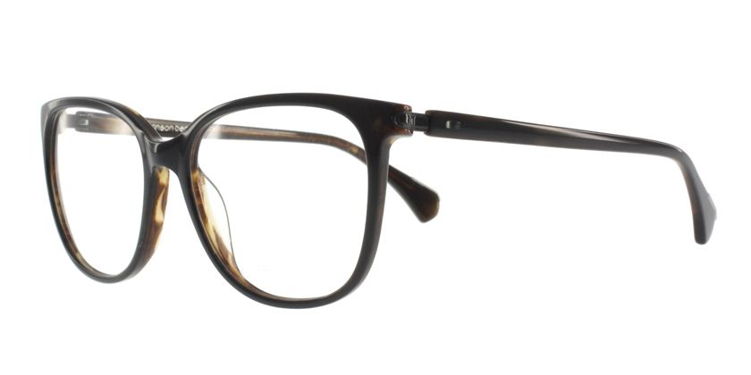 Anson Benson AB1026F012 Eyeglasses - 45 Degree View