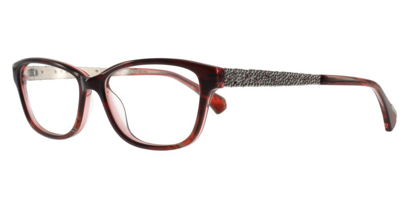Anson Benson AB1027F005 Eyeglasses - 45 Degree View