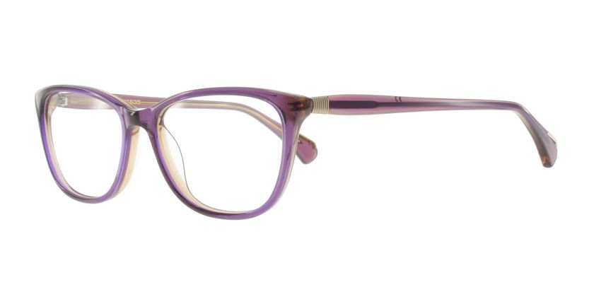 Anson Benson AB1033F0992 Eyeglasses - 45 Degree View