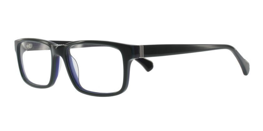 Anson Benson AB1035F766 Eyeglasses - 45 Degree View