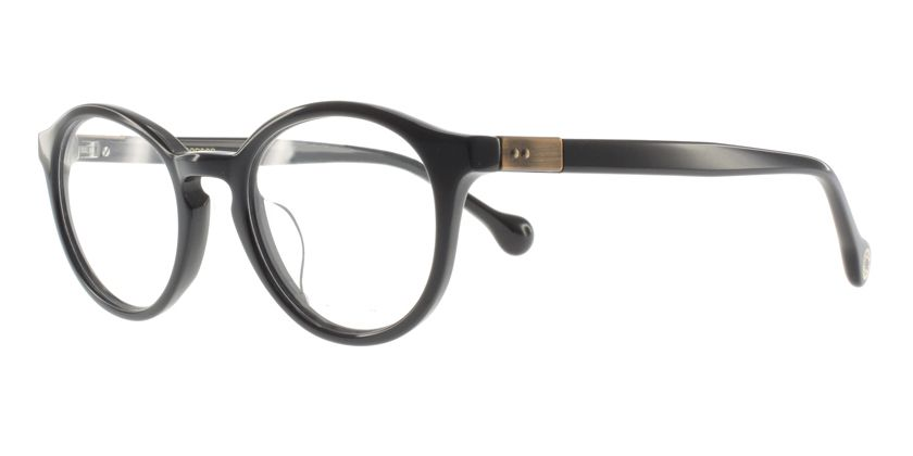 Anson Benson BF1034F001 Eyeglasses - 45 Degree View