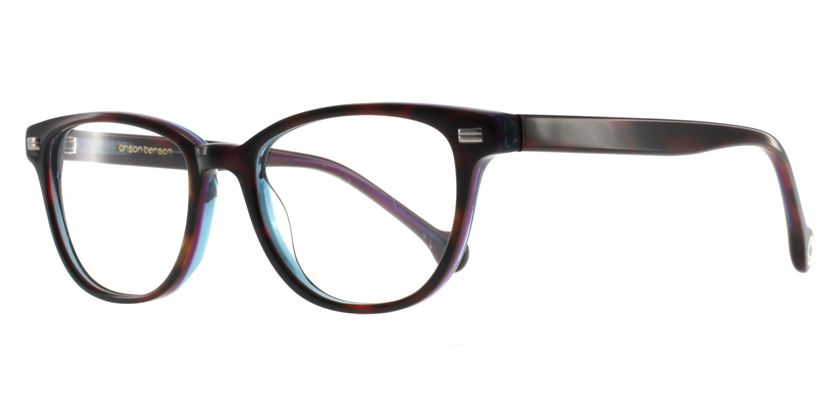 Anson Benson BF1039F2561 Eyeglasses - 45 Degree View