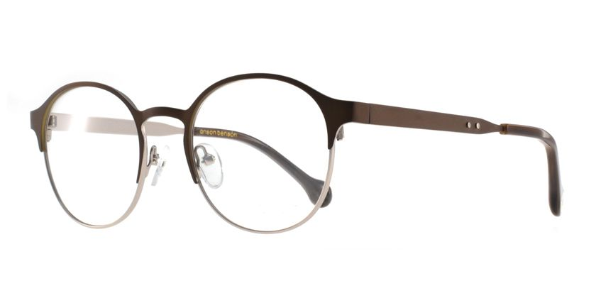 Anson Benson BF1043F202 Eyeglasses - 45 Degree View