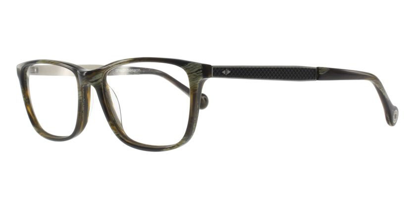 Anson Benson BF1046F320 Eyeglasses - 45 Degree View