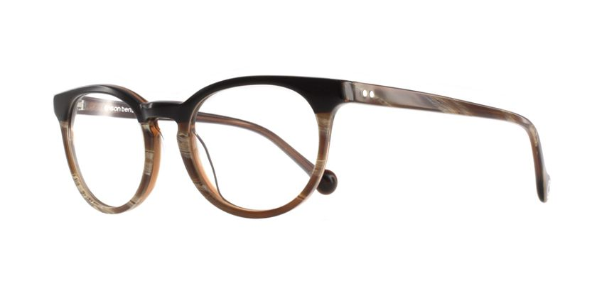 Anson Benson BF1054F442 Eyeglasses - 45 Degree View