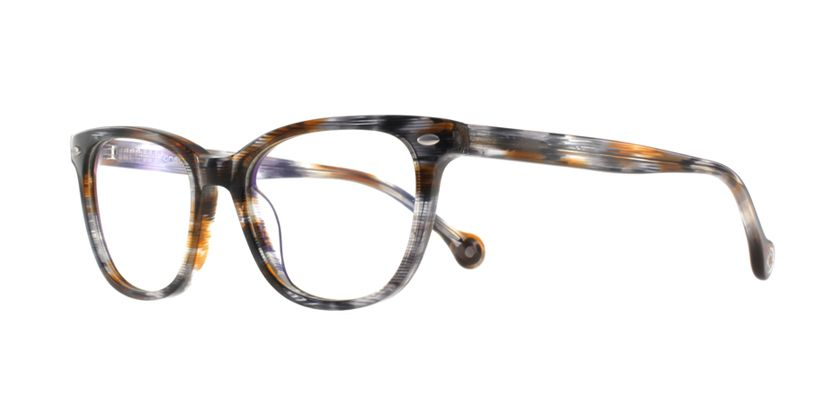 Anson Benson BF1055F0431 Eyeglasses - 45 Degree View