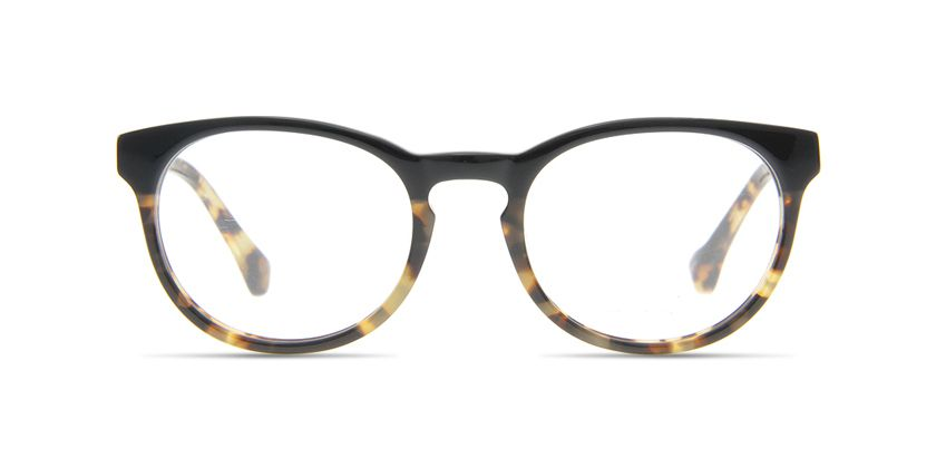 Below the Fringe BF1023F012 Eyeglasses - Front View