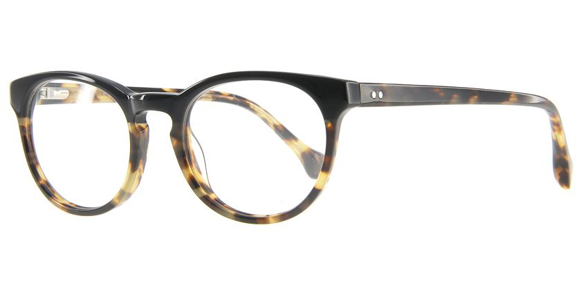 Below the Fringe BF1023F012 Eyeglasses - 45 Degree View