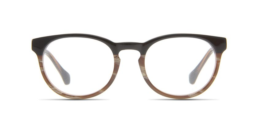 Below the Fringe BF1023F442 Eyeglasses - Front View