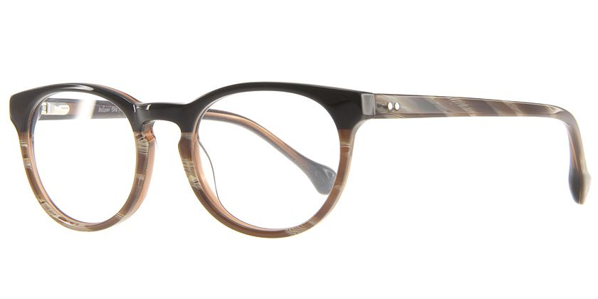 Below the Fringe BF1023F442 Eyeglasses - 45 Degree View