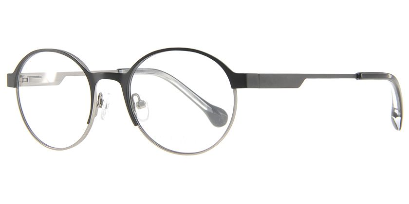 Below the Fringe BF1030F001 Eyeglasses - 45 Degree View