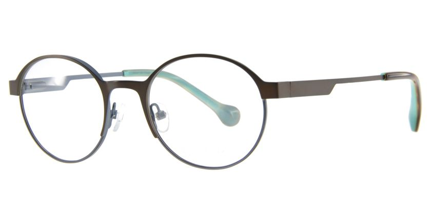 Below the Fringe BF1030F202 Eyeglasses - 45 Degree View
