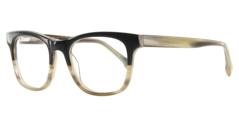 Below the Fringe BF1041F132 Eyeglasses - 45 Degree View