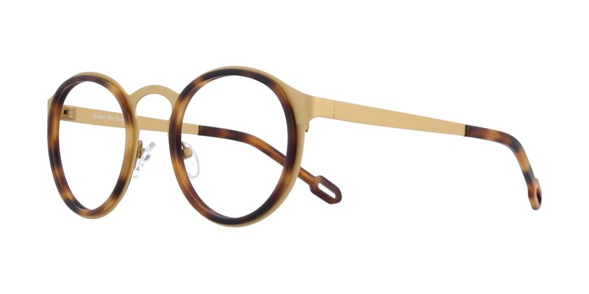 Below the Fringe BF1063F003 Eyeglasses - 45 Degree View