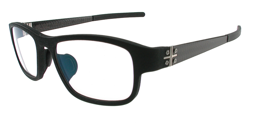 Blac BCPLUS09BLACK Eyeglasses - 45 Degree View