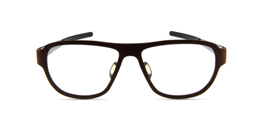 Blac BCPLUS12BROWN Eyeglasses - Front View