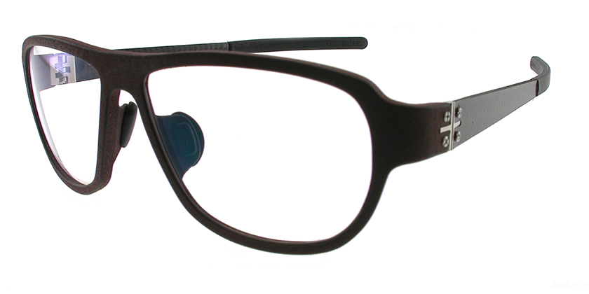 Blac BCPLUS12BROWN Eyeglasses - 45 Degree View