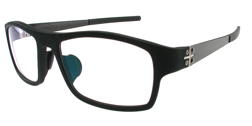 Blac BCPLUS14BLACK Eyeglasses - 45 Degree View