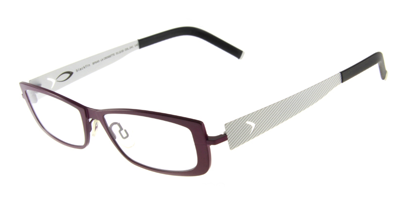 Blackfin BF649241 Eyeglasses - 45 Degree View