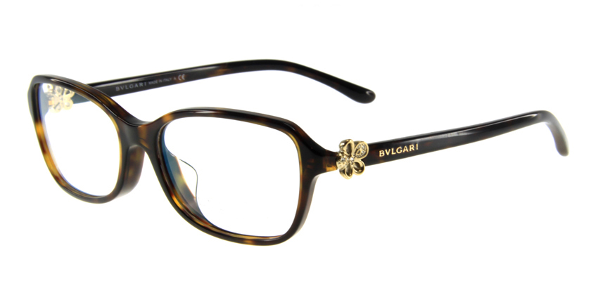 Bvlgari BV4072BF504 Eyeglasses - 45 Degree View