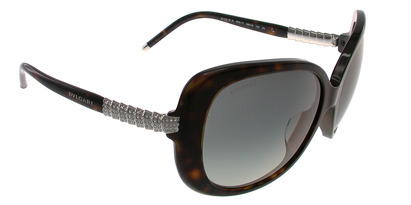 Bvlgari BV8105BA50411 Sunglasses - 45 Degree View