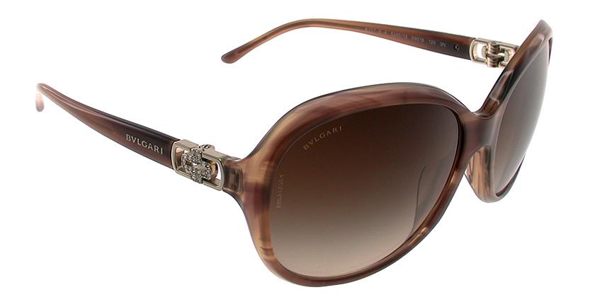 Bvlgari BV8107BA524013 Sunglasses - 45 Degree View