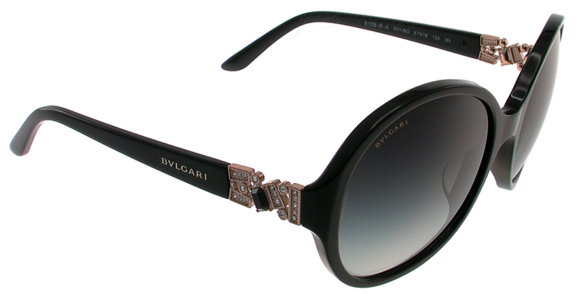 Bvlgari BV8108BA5018G Sunglasses - 45 Degree View