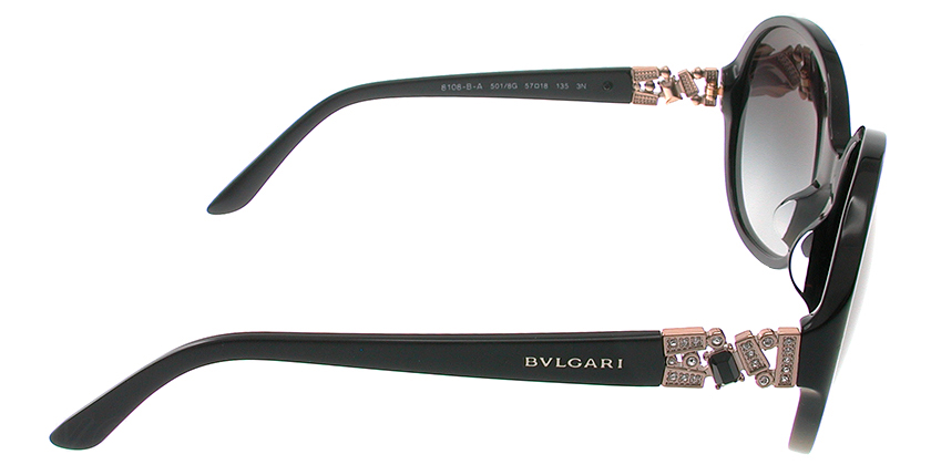Bvlgari BV8108BA5018G Sunglasses - Side View