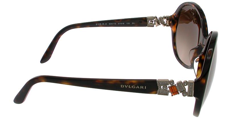 Bvlgari BV8108BA50413 Sunglasses - Side View