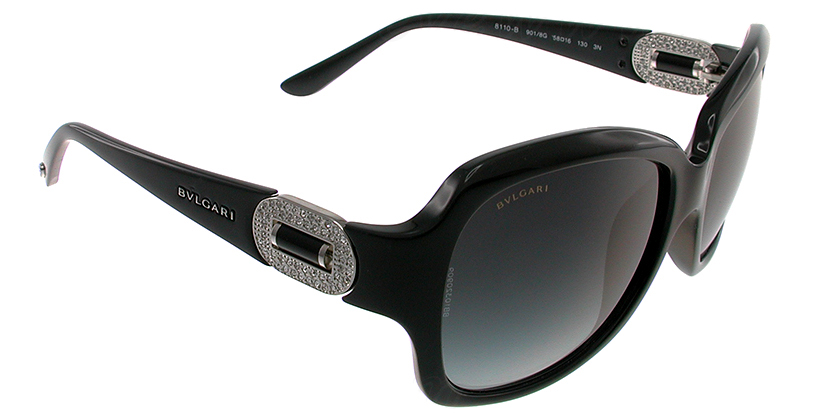 Bvlgari BV8110B9018G Sunglasses - 45 Degree View