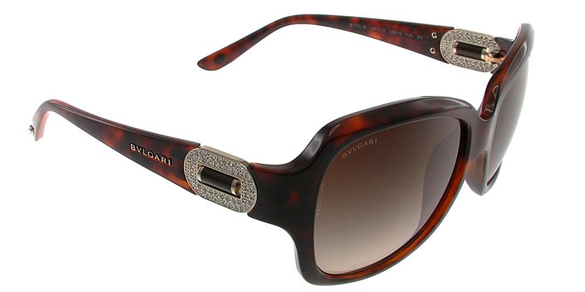 Bvlgari BV8110B96713 Sunglasses - 45 Degree View