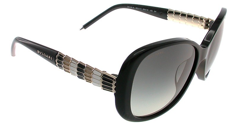 Bvlgari BV8114A50111 Sunglasses - 45 Degree View