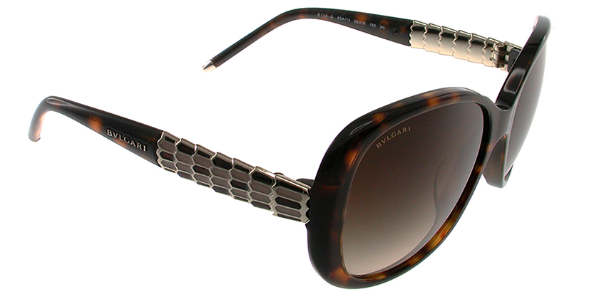 Bvlgari BV8114A50413 Sunglasses - 45 Degree View