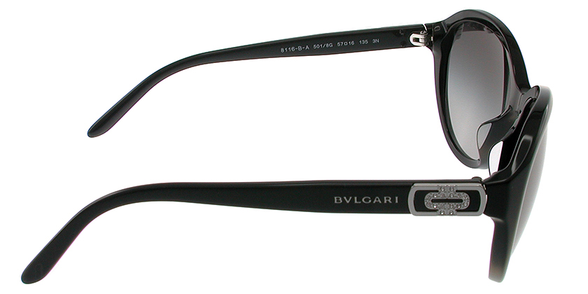 Bvlgari BV8116BA5018G Sunglasses - Side View