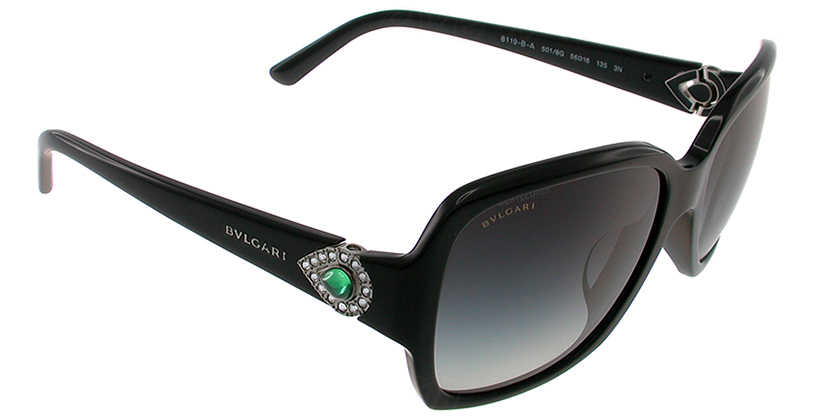 Bvlgari BV8119BA5018G Sunglasses - 45 Degree View