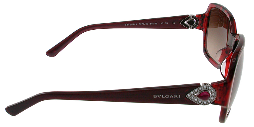 Bvlgari BV8119BA527713 Sunglasses - Side View