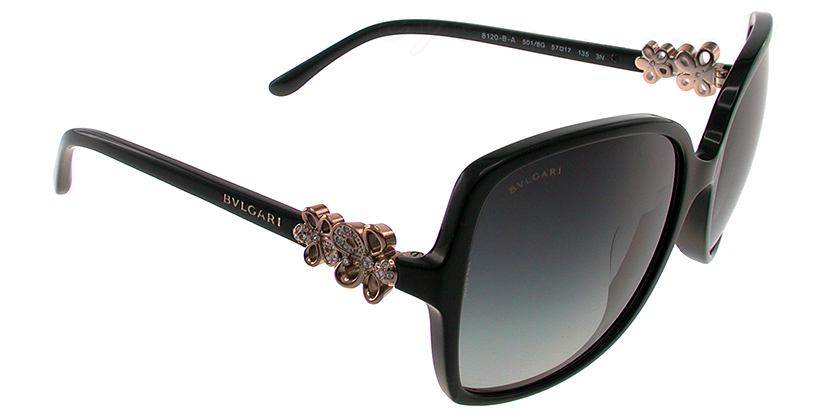 Bvlgari BV8120BA5018G Sunglasses - 45 Degree View