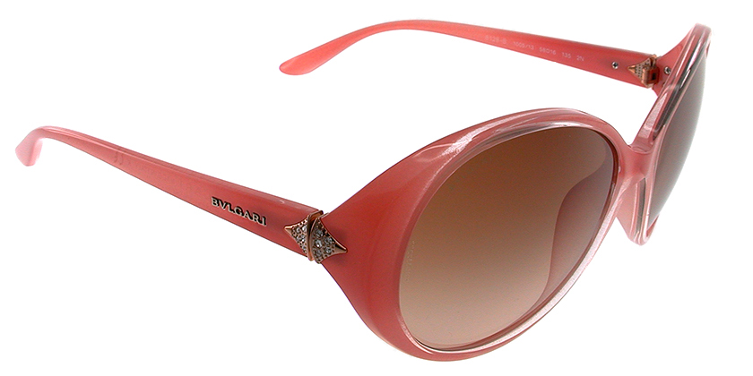 Bvlgari BV8128B100513 Sunglasses - 45 Degree View