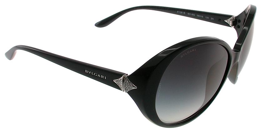 Bvlgari BV8128B9018G Sunglasses - 45 Degree View