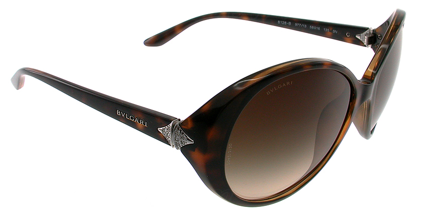 Bvlgari BV8128B97713 Sunglasses - 45 Degree View