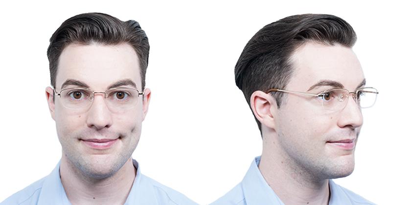 Cambridge UC88901 Eyeglasses - Try On View