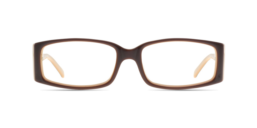 Cappuccino C1215AC1040 Eyeglasses - Front View